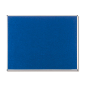 Nobo 1900916 Classic Blue Felt Noticeboard 1200 x 900mm