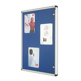 Nobo 1902049 A0 Internal Display Case with Blue Felt