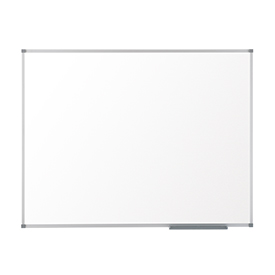 Nobo 1905201 Basic Melamine Non Magnetic Whiteboard with Basic Trim 600 x 450mm