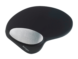 Kensington 62404 Gel Mouse Pad with Wrist Rest Black