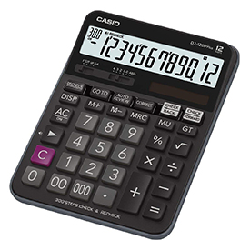 Casio DJ-120DPLUS Desktop Calculator