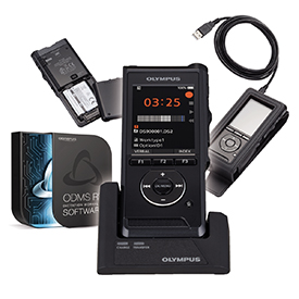 Olympus DS-9000 Premium Kit incl ODMS R7 Software