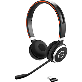 Jabra Evolve 65 UC Stereo Bluetooth Headset