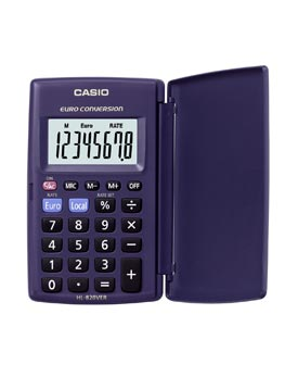 Casio HL-820VER Handheld Calculator