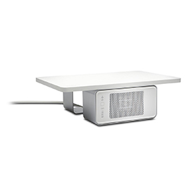 Kensington K55464EU WarmView Wellness Monitor Stand with Ceramic Heater