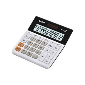 Casio MH-12-WE Desktop Calculator