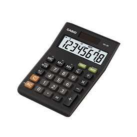 Casio MS-8B Mini Desk Calculator