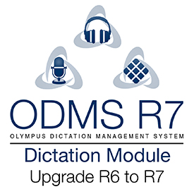Olympus Upgrade License ODMS Dictation Module R6 to R7