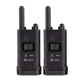 Cobra PU500 Pro Business Radio 1 Pair of 2 Way Radios