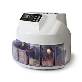 Safescan 1250 Euro Automatic Coin Counter and Sorter