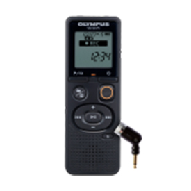 Olympus VN-541PC 4GB Digital Notetaker plus ME52 Uni Directional Microphone