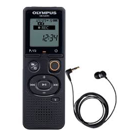 Olympus VN-541PC 4GB Digital Notetaker plus TP-8 Pick-up Microphone