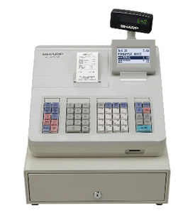 Sharp XE-A207W Cash Register