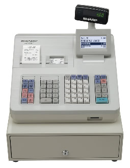 Sharp XE-A307 Cash Register