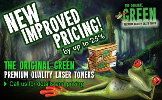 The Original Green Premium Quality Laser Toners
