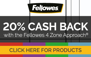 20% Cashback with Fellowes