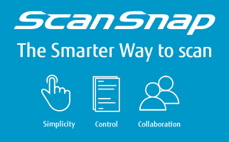 Smarter way to scan with ScanSnap