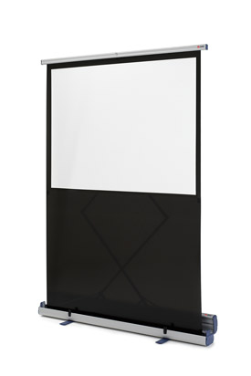 Nobo 1901955 Portable Floorstanding Projection Screen 1220 x 910mm