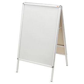 Nobo 1902205 700 x 1000mm A-Board Clip Frame Poster Display
