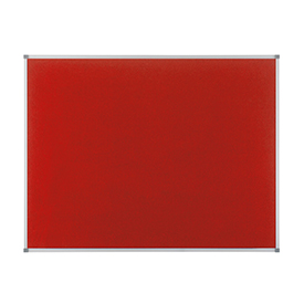 Nobo 1902260 Classic Red Felt Noticeboard 1200 x 900mm