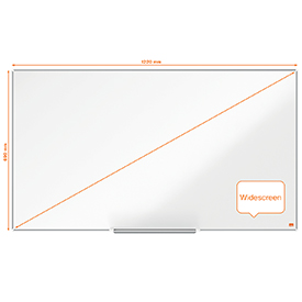 Nobo Impression Pro 1220x690mm Widescreen Nano Clean Magnetic Whiteboard