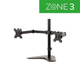 Fellowes 8043701 Professional Series Freestanding Dual Monitor Arm