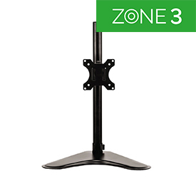 Fellowes 8049601 Professional Series Freestanding Single Monitor Arm