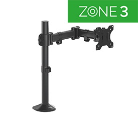 Fellowes 8502501 Reflex Series Single Monitor Arm