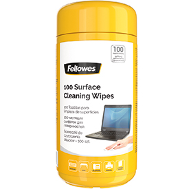 Fellowes 99715 Surface Cleaning Wipes