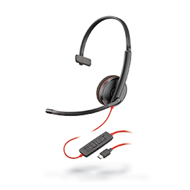Plantronics Blackwire C3210 USB-C Monaural Headset
