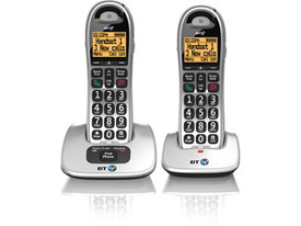 BT BT4000 Twin Big Button DECT Telephone