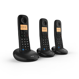 BT Everyday Trio Dect Call Blocker Telephone