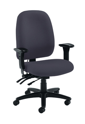 Posture Vista High Back Chair Charcoal
