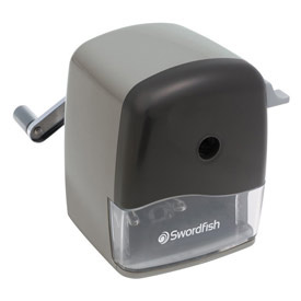 Swordfish Curve Pencil Sharpener