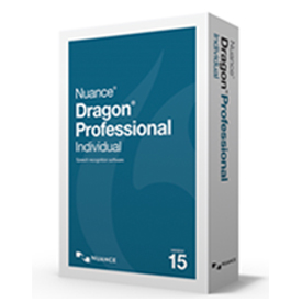 Nuance Dragon Professional Individual 15 - Professional Upgrade Box Copy