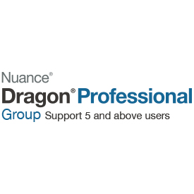 Nuance Dragon Professional Group 15 Licence 5 Users and Above