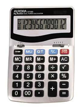 Aurora DT303 Desk Calculator