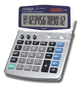 Aurora DT401 Desk Calculator