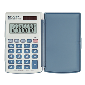 Sharp EL-243S Handheld Calculator