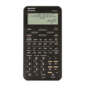 Sharp SH-ELW531TL Writeview Scientific Calculator Black