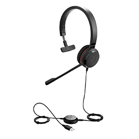 Jabra Evolve 30 II MS NC Mono Headset
