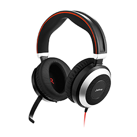 Jabra Evolve 80 MS Stereo NC Headset