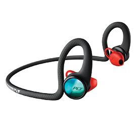Poly BackBeat Fit 2100 Wireless Sport Headphones Black