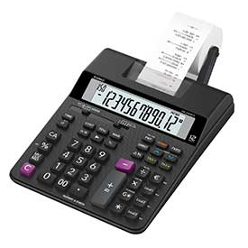 Casio HR-200RCE 2 Colour Print Calculator