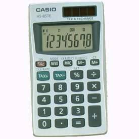 Casio HS-85TE Handheld Calculator