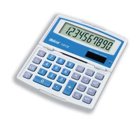 Ibico 101X Handheld Calculator