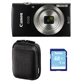 Canon IXUS 185 Digital Camera Bundle Black