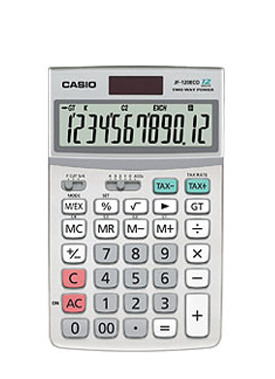 Casio JF-120ECO Desk Calculator