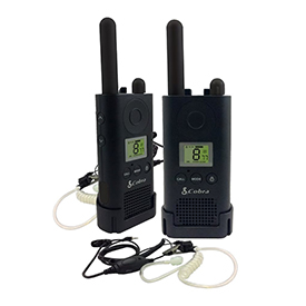 Cobra PU880 Business Radio 1 Pair of 2 Way Radios