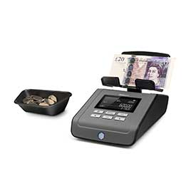 Safescan 6165 Money Counting Scale for Coins and Notes